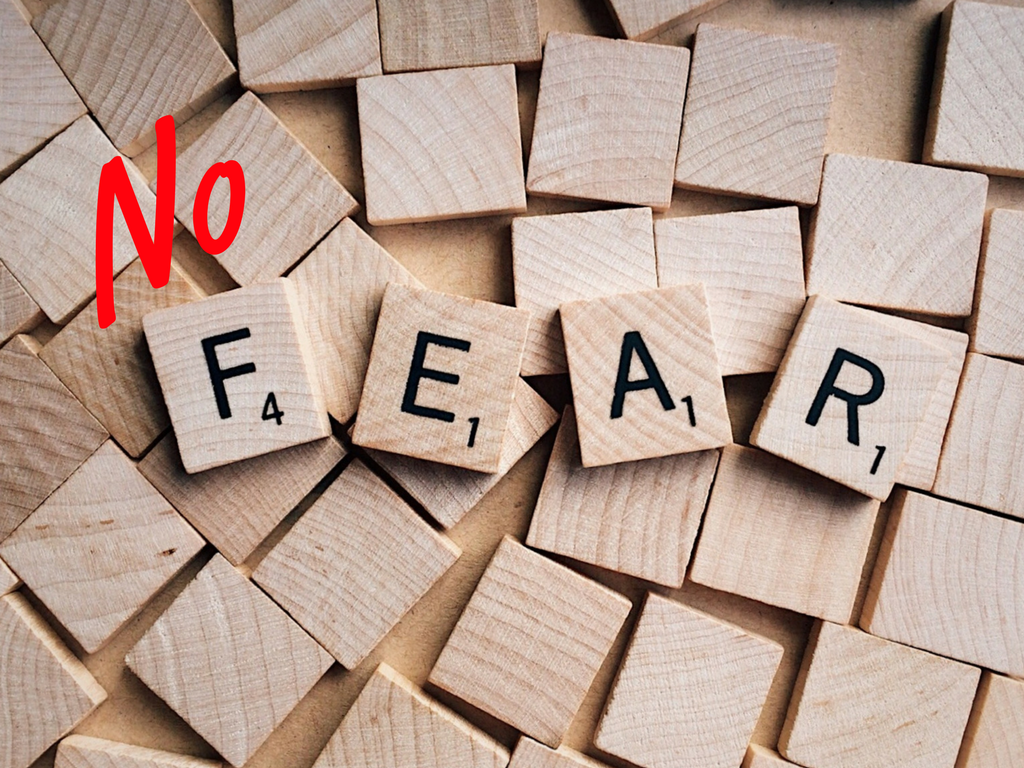 NoFear of Harvey Weinstein and other predators - lean INTO love!